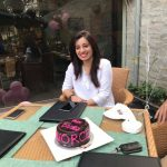 Maham Asif Celebrating Happy Divorce Day at a Restaurant in Lahore.