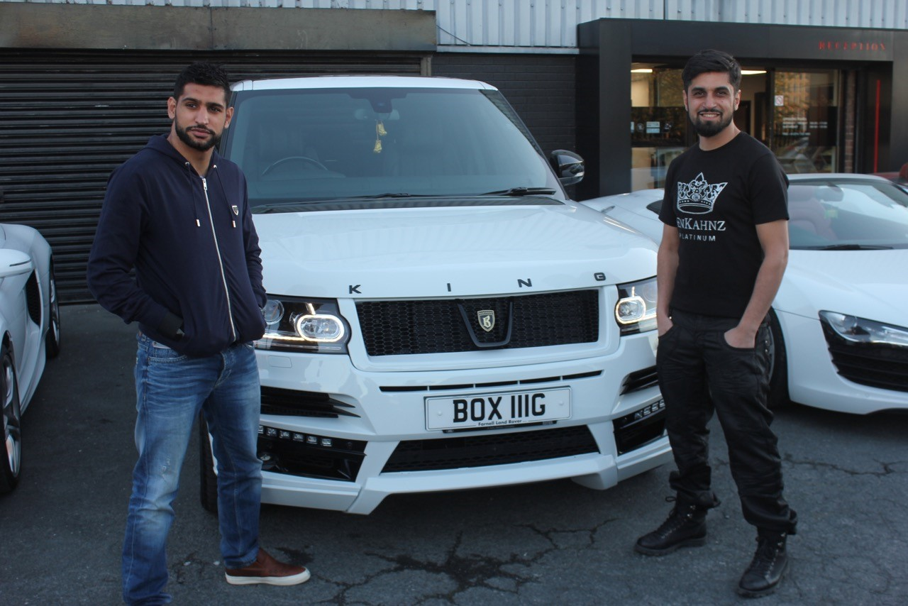 boxer amir khan s 100k car gets a knock out makeover by bradford firm mera mirpur. Black Bedroom Furniture Sets. Home Design Ideas