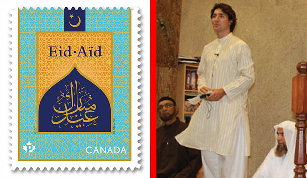 Canada Issued A Postage Stamp Wishing Eid Mubarak To All Muslims
