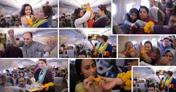 PIA Celebrates 'Spring' with Dance & Distributes Gifts to Passengers
