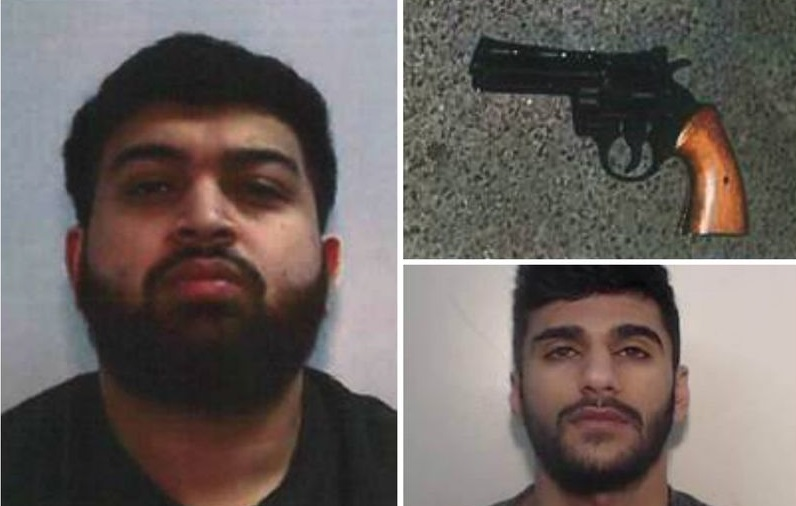 Salman Gull, 24, and Aqeel Ilyas, 22, Jailed for 6 years for Firearm offence in Manchester