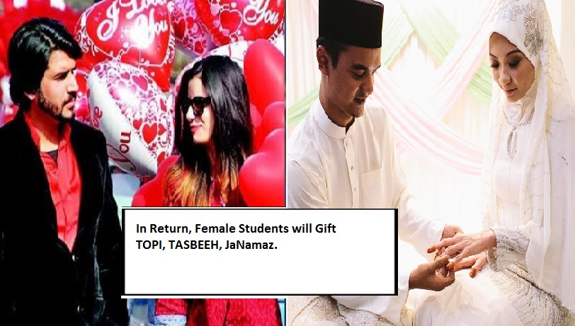 Pakistani University will 'Celebrate' Feb 14 as Sister's Day, Boys will Gift Scarves to Girls