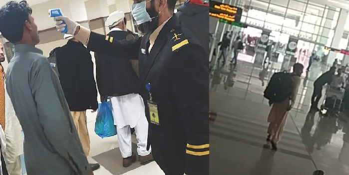 2 Passengers Referred to Hospital After Screening, Fled, Leaving Family and Kid at Islamabad Airport