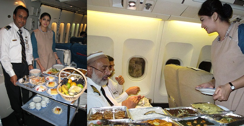 No Lunch or Dinner for PIA Pilots and Crew Members on International Flights Especially in UK