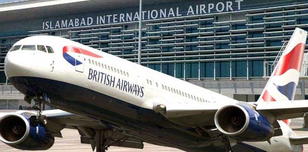 British Airways Starts Direct Flights to Pakistan, 3 Times A Week, 1st Flight to Land on 14th August at Islamabad