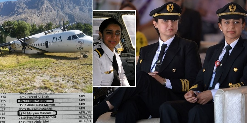 """PIA Pilot Sisters Maryam and Erum Who Hold Record of Flying Boeing-777 Suspended Over """"Dubious Licenses"""""""