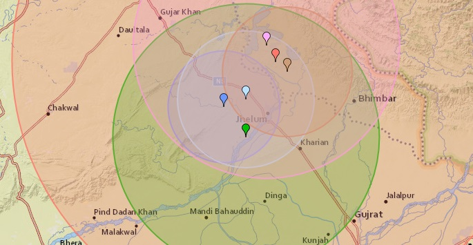 Another Strong Earthquake Tremor Felt in Mirpur on Late Night July 8th