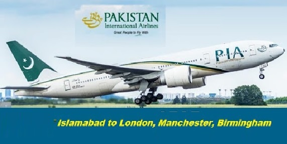 PIA To Operate Direct Flights for London, Manchester and Birmingham from August 14