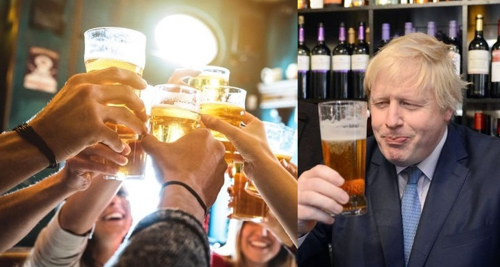 Boris Johnson begs people to behave as pubs open TOMORROW
