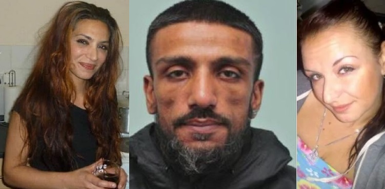 Zahid Younis, 36, Jailed for life for killing and Freezing 2 innocent Women in Canning Town