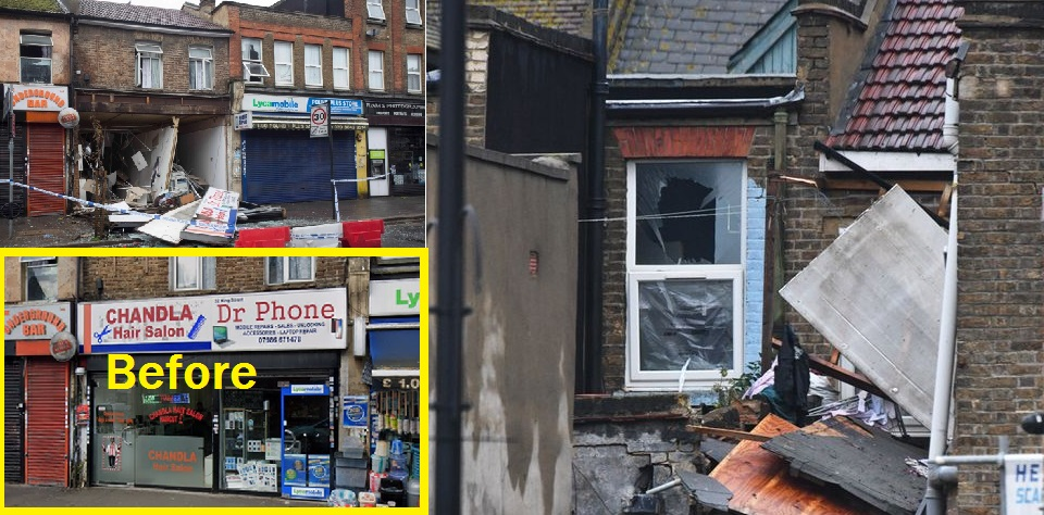Two Me Killed Following Gas Explosion in a Shop in London