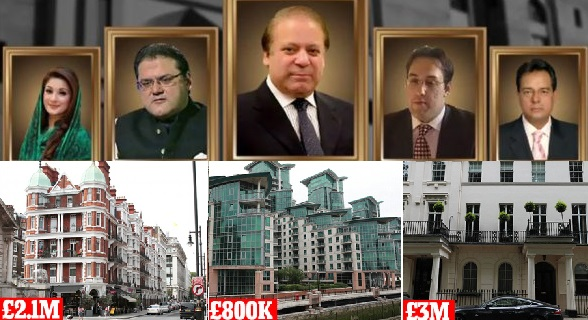 "Nawaz Sharif Ploughed Millions of Dirty Money into London, ""A Safe Haven"""
