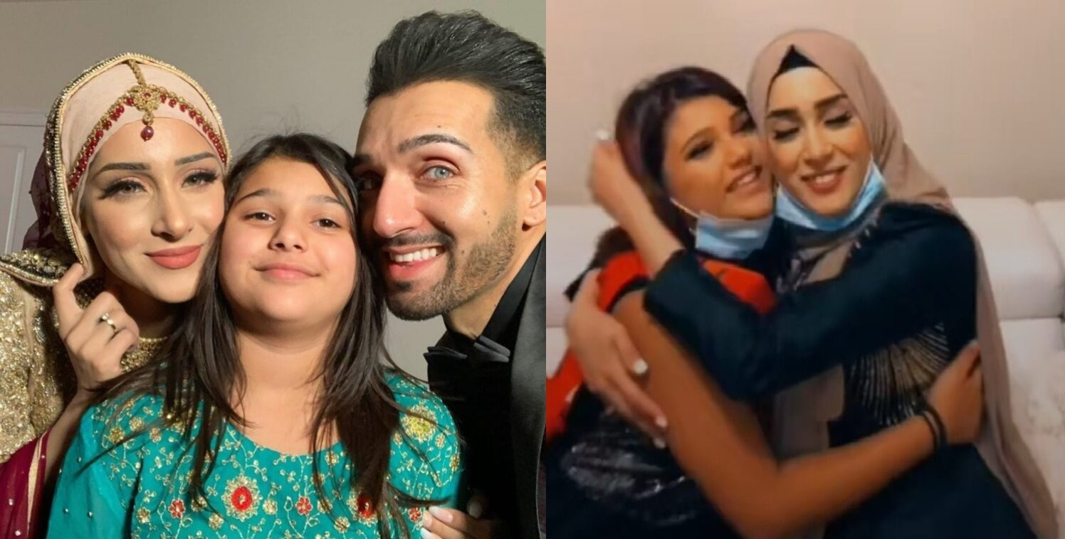 Shaam Idrees Introduces Daughter Dua From 1st Marriage To His Second Wife Froggy
