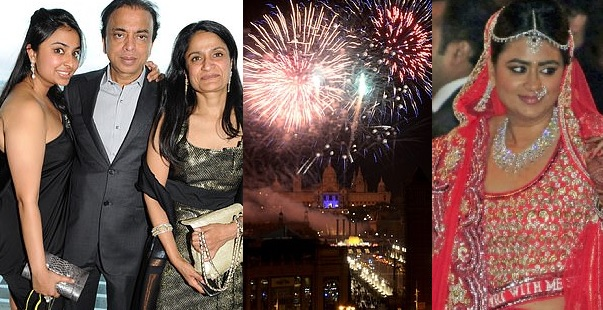 """Britain's Steel Tycoon Spent £50m On Daughter's Wedding """"Owns Only £45 Land"""""""