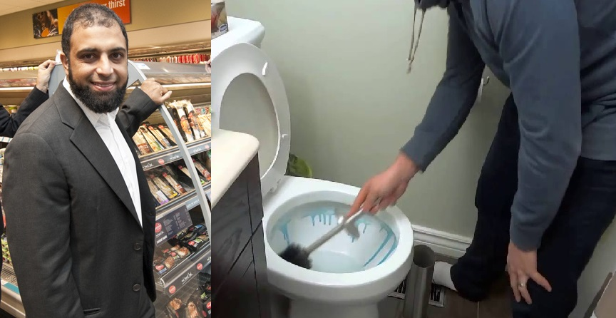 Zuber Issa, 48, Tells Stocking Shelves and Cleaning Toilets is Foundation of His Success