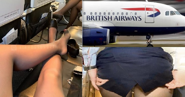 British Airways Hostess Sells Her Underwear for £25 To Earn Extra Money in Flights