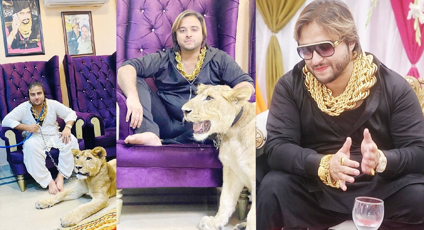 Luxury Lifestyle of Mian Kashif Chaudhary Who Wears Heavy Gold Chains