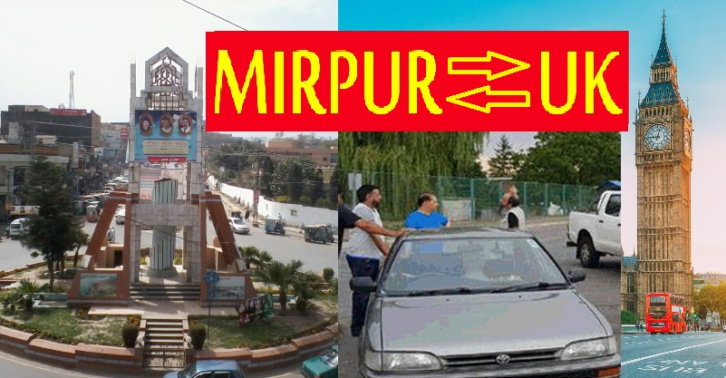 Travel From United Kingdom To Mirpur By Road in 15 Days