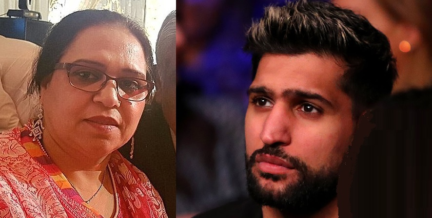 Boxer Amir Khan Asks For Prayers For His Mum, 54, Diagnosed With Cancer