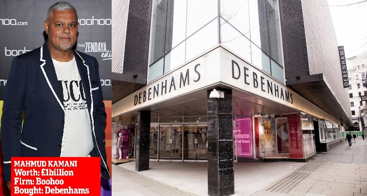 Boohoo Buys Debenhams for £55 Million, 12,000 to Loss Job After It Goes Online