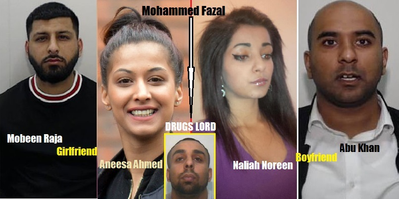 Boyfriends Used Their Girlfriends To Transport Drugs for Drug Lord M. Fazal