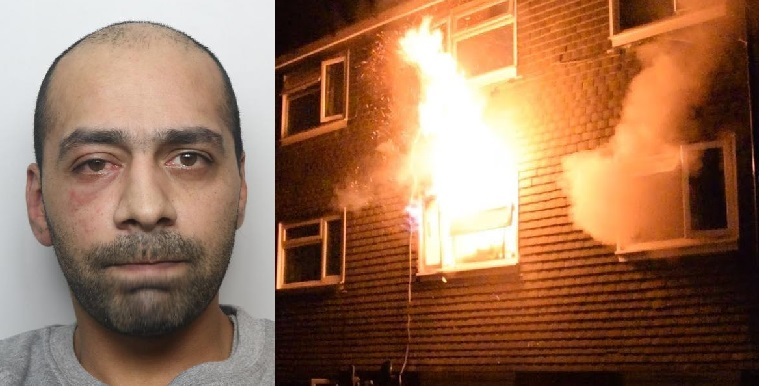 Waseem Nawaz Who Set Fire to Woman's Flat is Jailed for 9 Years in Keighley