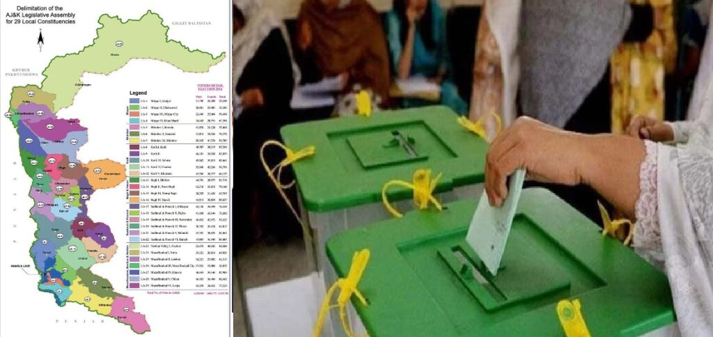 AJK Elections 2021 Live  Results of All Parties and Constituencies