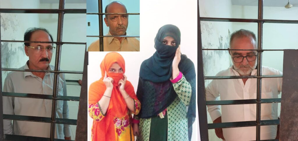 3 Men Caught Red Handed with 2 Call Girls in Overseas Housing Society in Mirpur