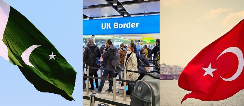 8 Countries Including Turkey and Pakistan Come Off UK's Red List from 22 September