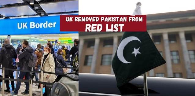 Finally Pakistan Removed from UK's Travel Red List