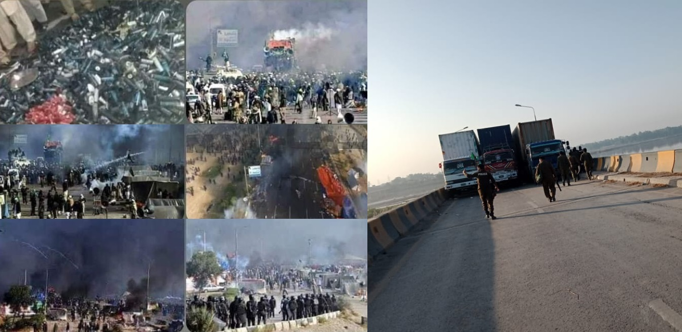 4 Policemen Killed, 250 injured during Clash With TLP Workers on GT Road