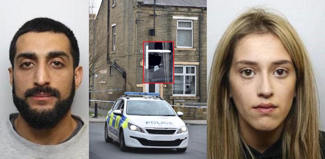 Bradford Gangster Ummar and His Innocent Muslim Girlfriend Kiran Jailed for 27 Years