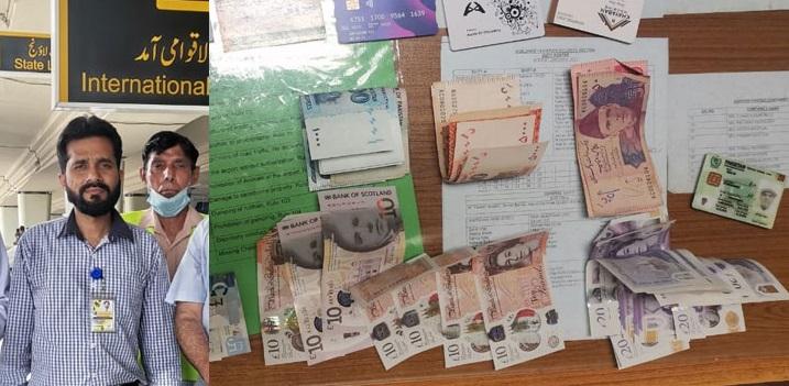 Honest Staff of Pakistan Civil Aviation Returned Lost Bag and Money to British Passenger