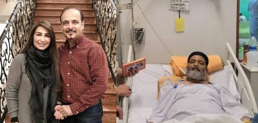 Reema Khan's husband to treat legendary comedian Umer Sharif in US
